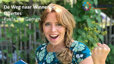 De Weg naar Winnende Offertes – Paula van Gemen voor beUnited University ZZP MKB Nederland