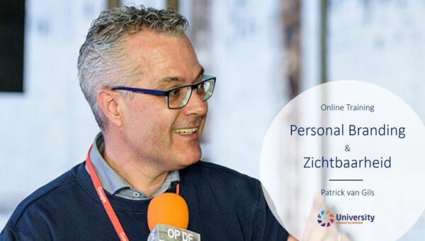 beUnited university online training Personal Branding & Zichtbaarheid Patrick van Gils ZZP MKB Nederland