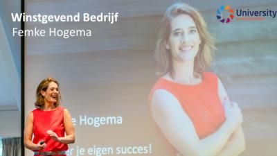 Winstgevend Bedrijf Femke Hogema voor beUnited University ZZP MKB Nederland