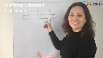 Conflicten oplossen! Hilde Kroon voor beUnited University ZZP MKB Nederland