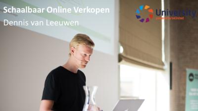 Schaalbaar Online Verkopen - Dennis van Leeuwen voor beUnited University ZZP MKB Nederland