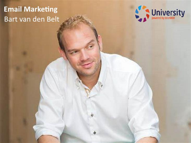 E-mail marketing - Bart van den Belt voor beunited University ZZP MKB Nederland