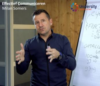 Effectief Communiceren - Milan Somers voor beUnited University ZZP MKB Nederland